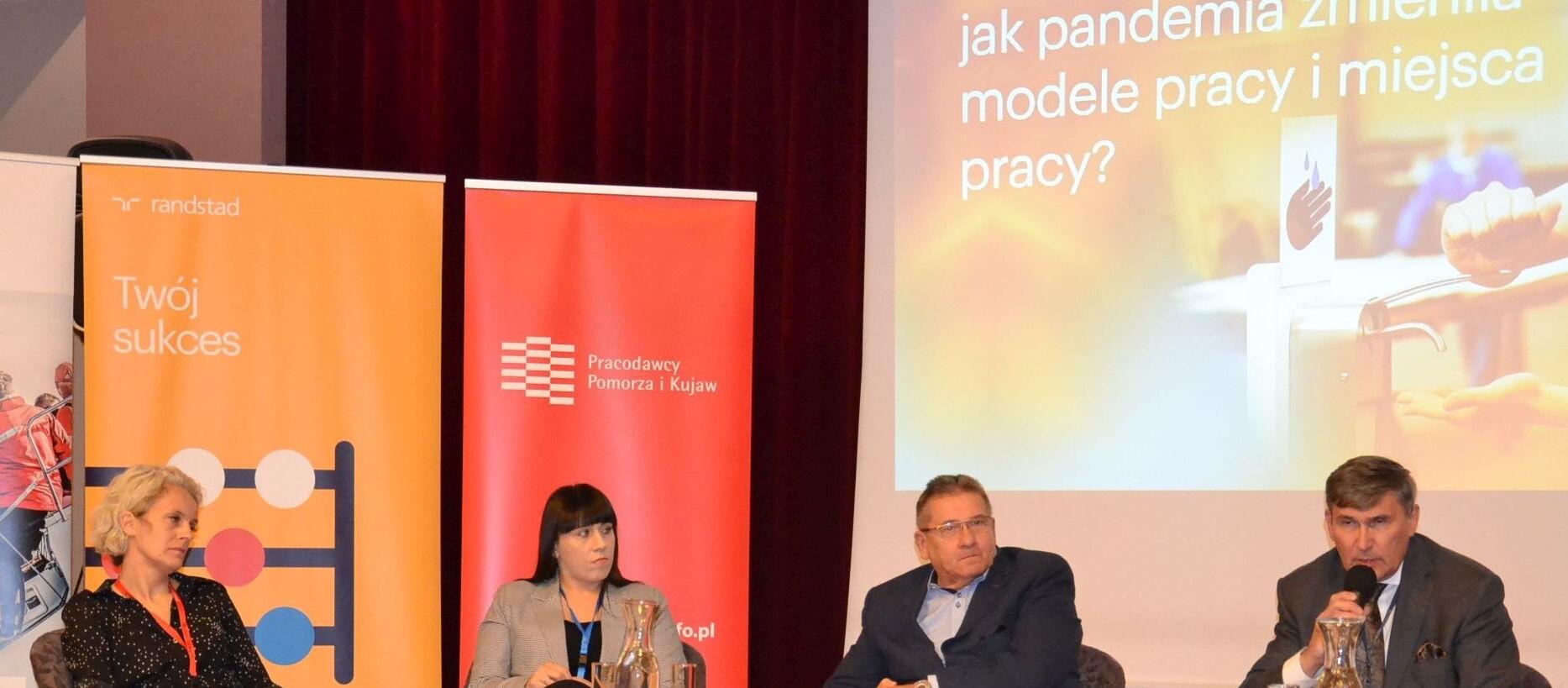 Wyzwania na regionalnym rynku pracy. Relacja z Kujawsko-Pomorskiego FORUM HR 2021.